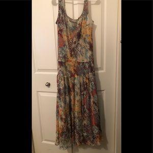 Pretty maxi dress - Fall colors